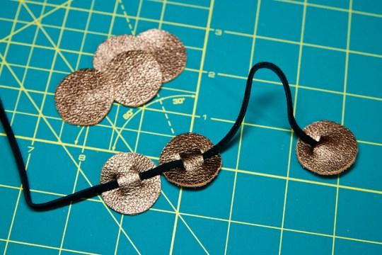 Noe-Sew Leather Headband