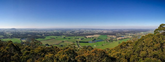 Mount Buninyong - iPhone Panorama