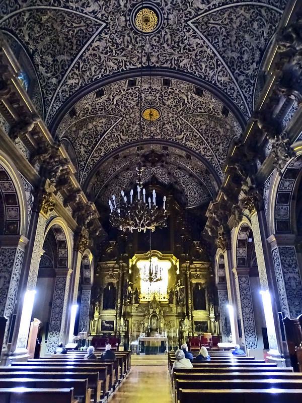 Teruel nave central boveda Iglesia San Salvador 02