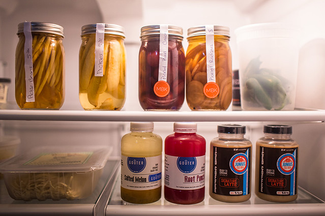 Chef Frederik De Pue shows BYT what\'s in his fridge at his home in Bethesda, MD.
