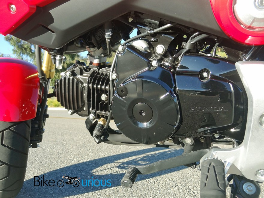Honda Grom - Engine