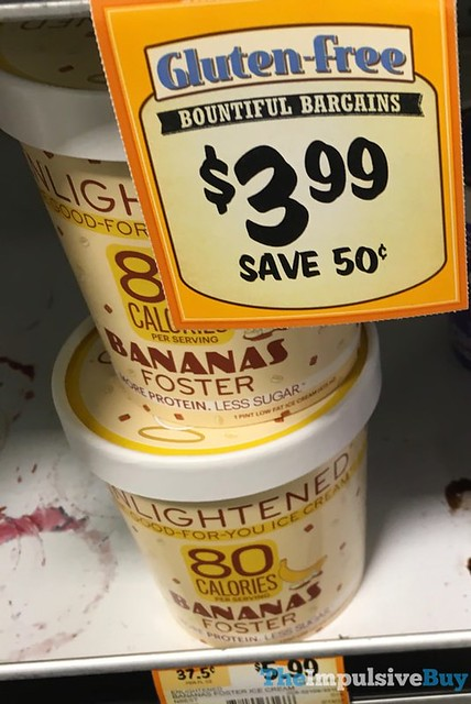 Enlightened Bananas Foster Ice Cream