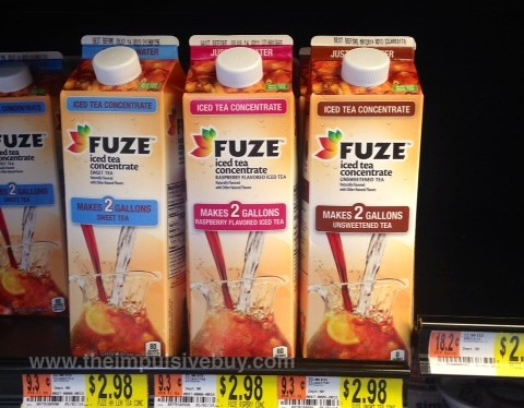 Fuze Iced Tea Concentrate