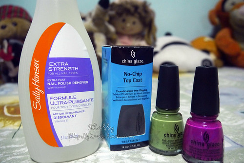 China Glaze and Sally Hansen 2014-0705