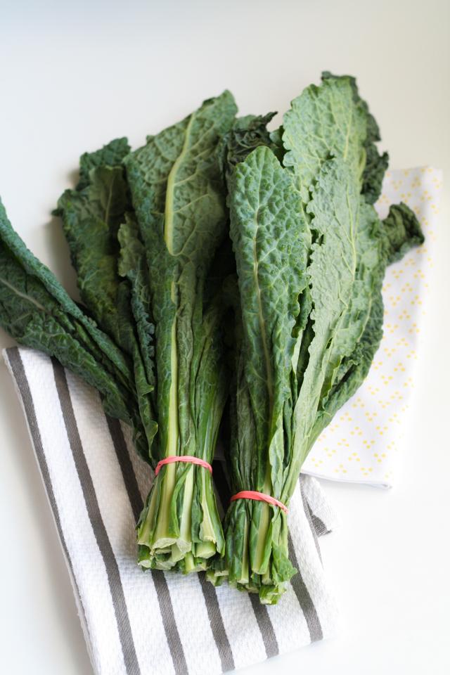 kale walnut & parmesan salad [ inthiskitchen.com ]