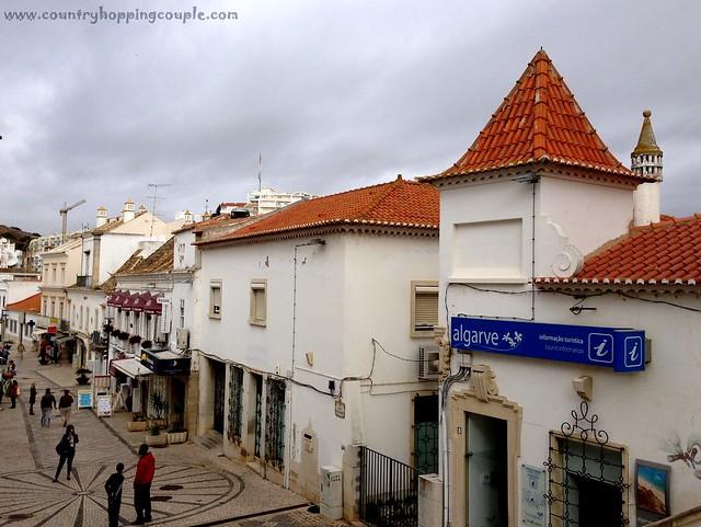 Narrow streets Albufeira