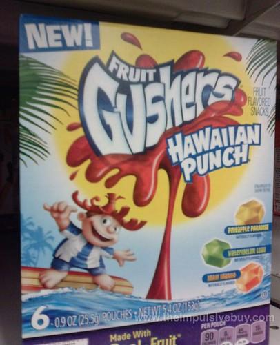 Betty Crocker Fruit Gushers Hawaiian Punch