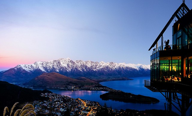Queenstown - sunset
