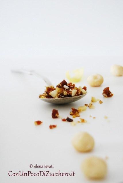 Noci macadamia, albicocche e limone