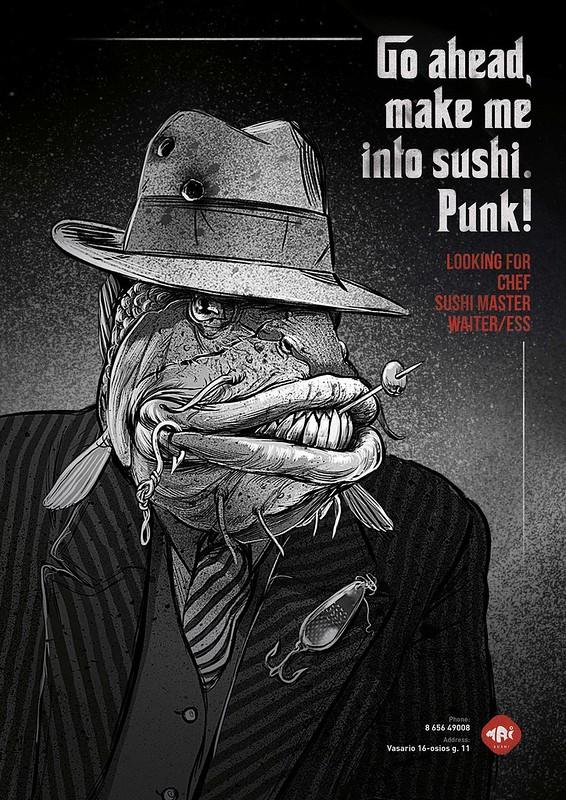 Mai Sushi Job - Sea Gangsters 1