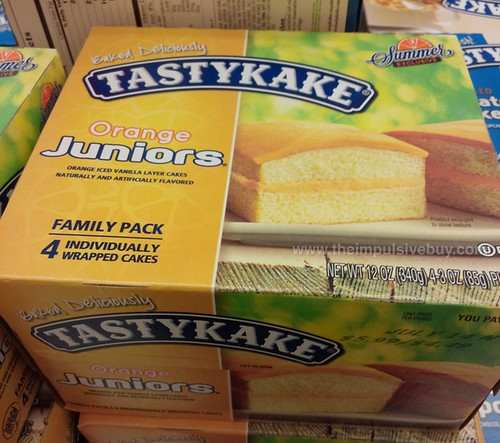 Tastykake Summer Exclusive Orange Juniors