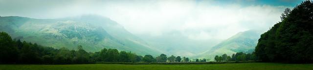 Great Langdale panorama