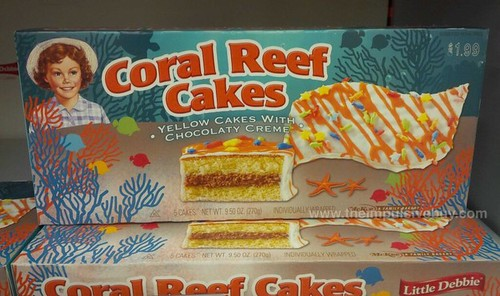 Little Debbie Coral Reef Cakes