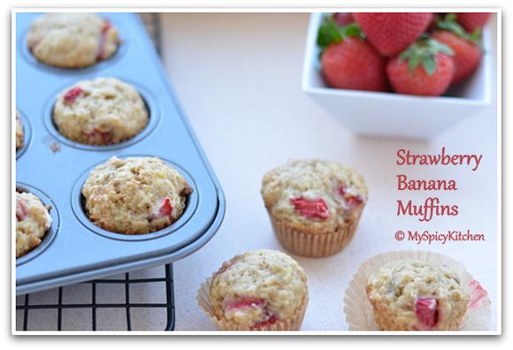 Strawberry Banana Muffin, Breakfast