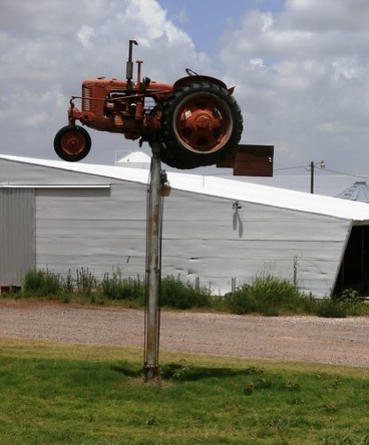 Oklahoma weather vane