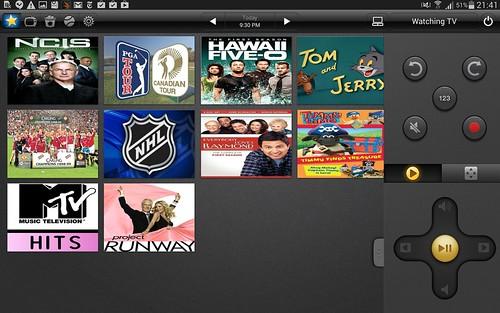 Peel เป็น App รีโมทของ Samsung Galaxy Tab S 8.4