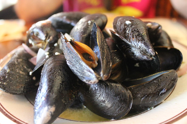 Comer en Boston: Mejillones. en 'Union Oyster House' (Boston)