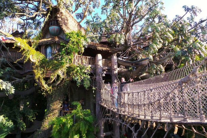 Disneyland Swiss Family Tree House