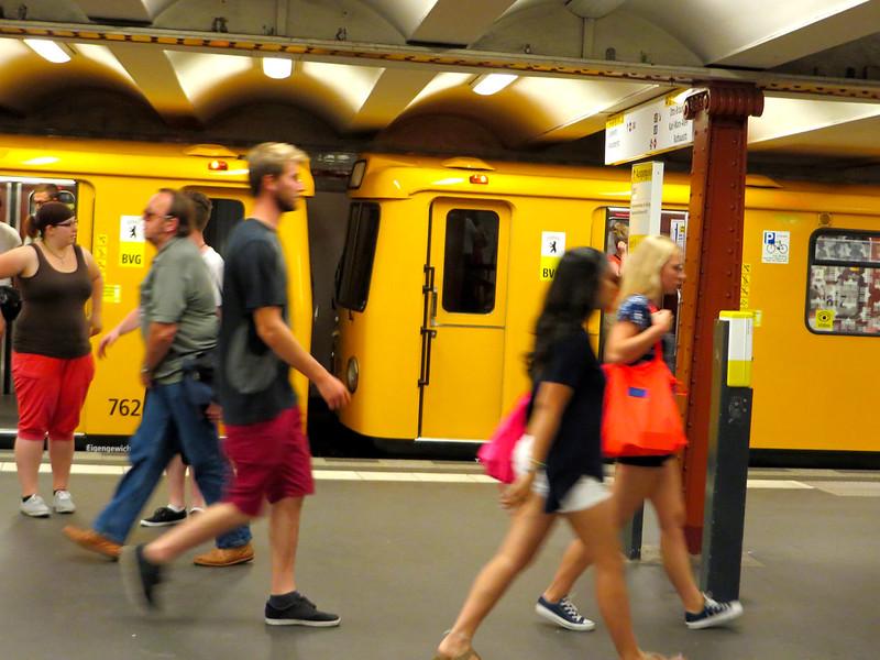 Ubahn at Alexanderplatz