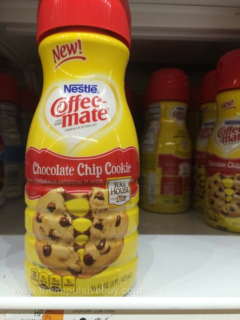 Nestle Coffee-mate Toll House Chocolate Chip Cookie