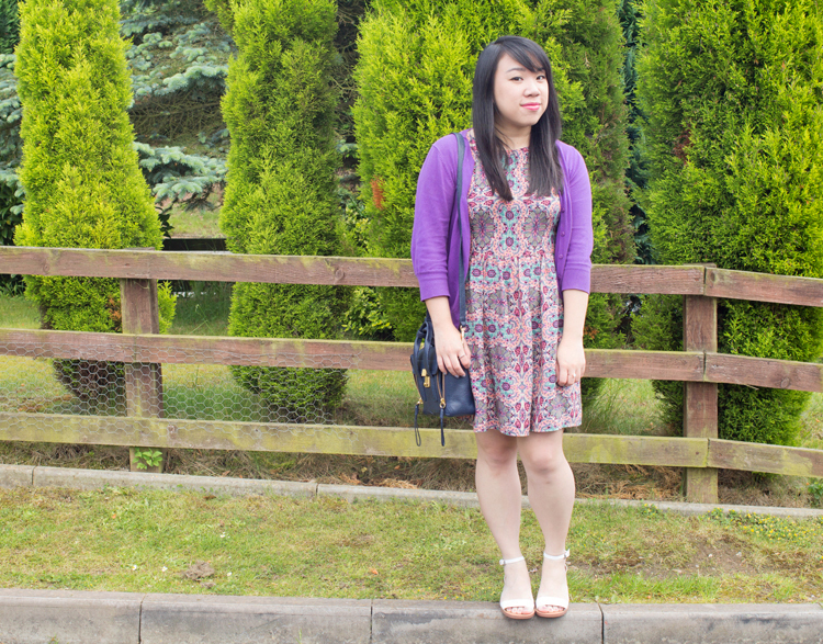 Floral River Island Dress Outfit