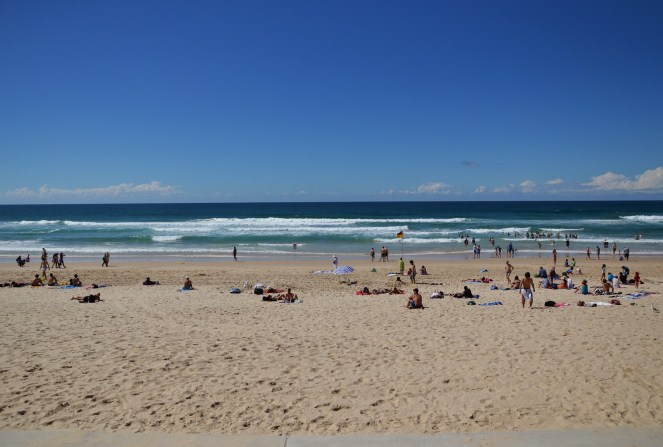 Surfer's Paradise beach, Gold Coast, Australia