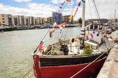 Boat on #Bristol Harbour