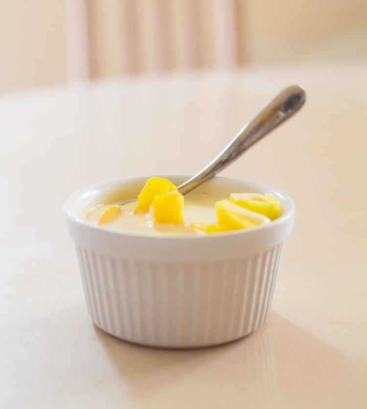 mango pudding evaporated milk