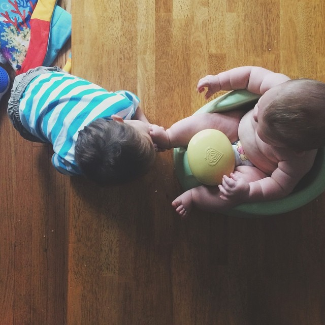 Emperor Ezra, wearing his new clothes and sitting on his throne, will only be approached if one first bows down, if not already prostrate on the floor, and kisses his feet. {#vscocam #vsco #lincolnsquareliving #vscofam #vscokids #stayathomedad #dadlife #k