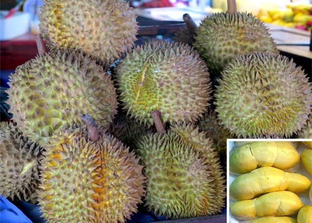 Durian, fruta de Asia