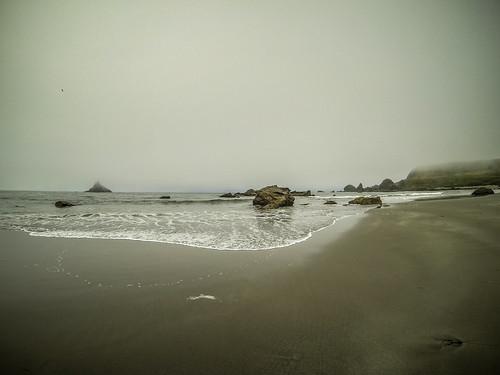 Beach at Twin Rocks