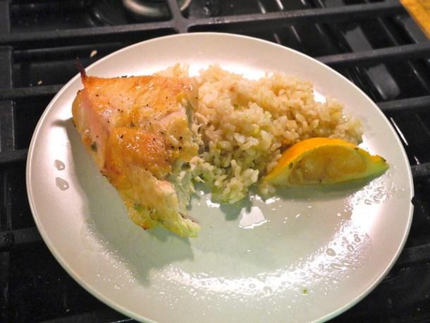 Lemon Thyme Chicken Breasts