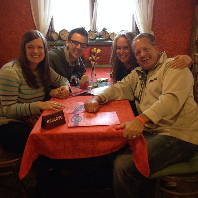 Hanging With the Ardos (9/25/14)