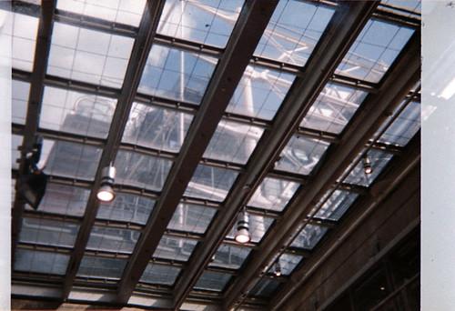 Centre Pompidou vu de l'Ircam