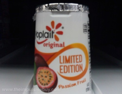 Yoplait Original Limited Edition Passion Fruit Yogurt