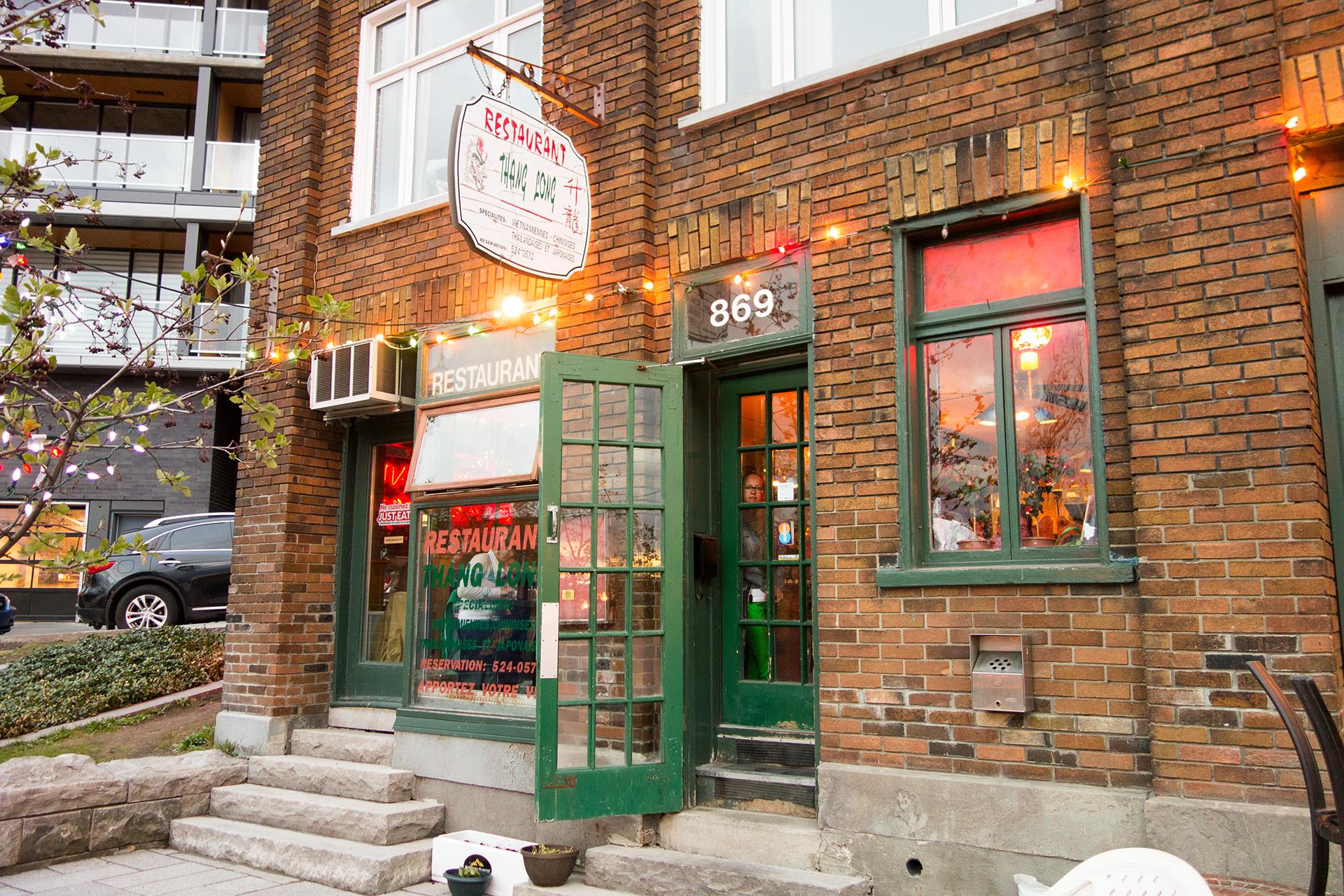 Thang Long restaurant, Quebec City.