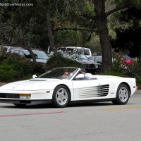 Ferrari Testarossa Spider spotted in Pebble Beach, CA