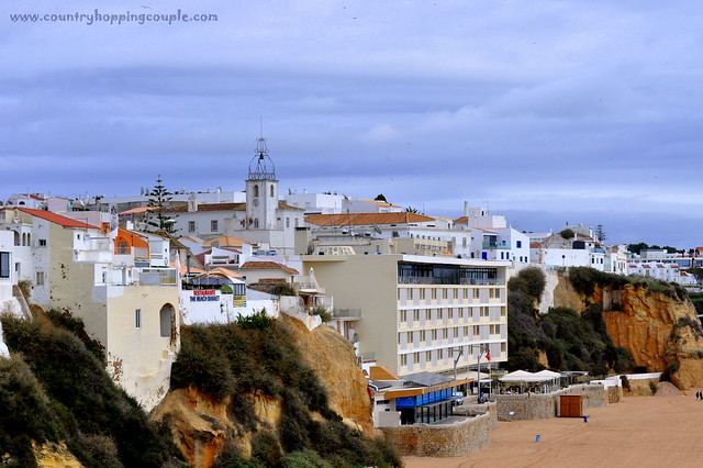 Whitewashed buildings of Albufeira