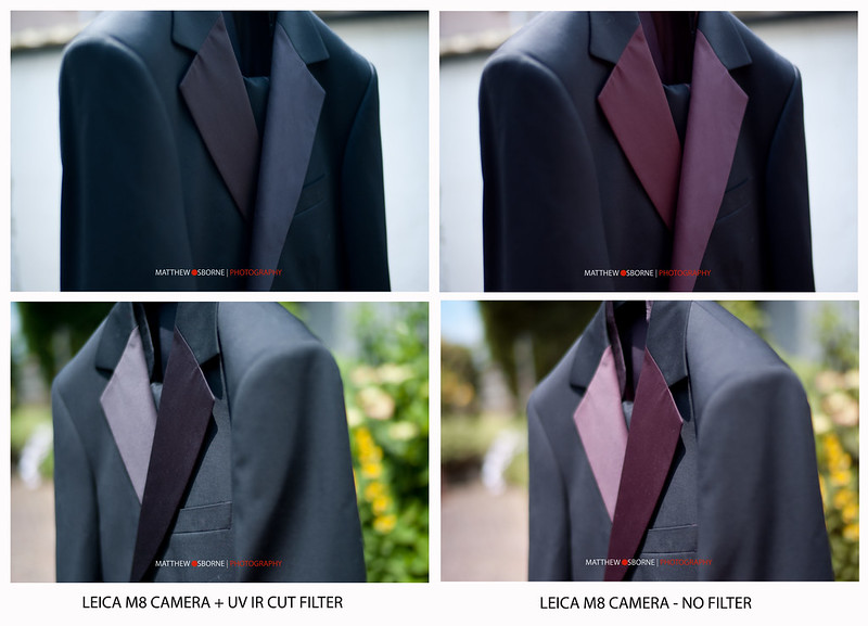 Leica M8 IR Filter Test