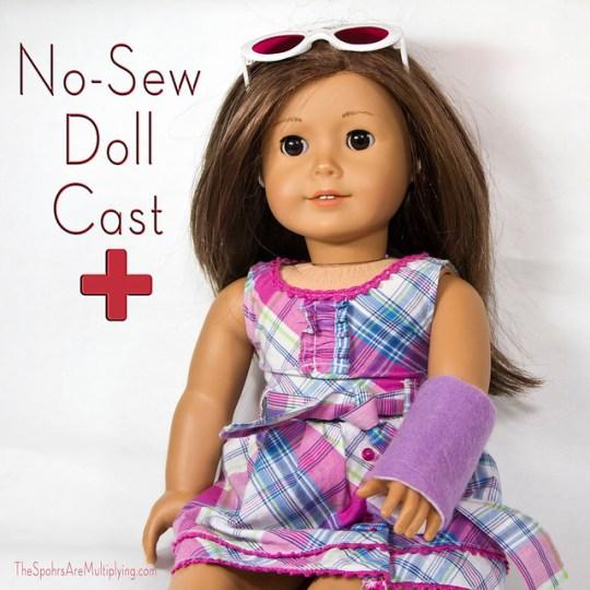 No-Sew Doll Cast