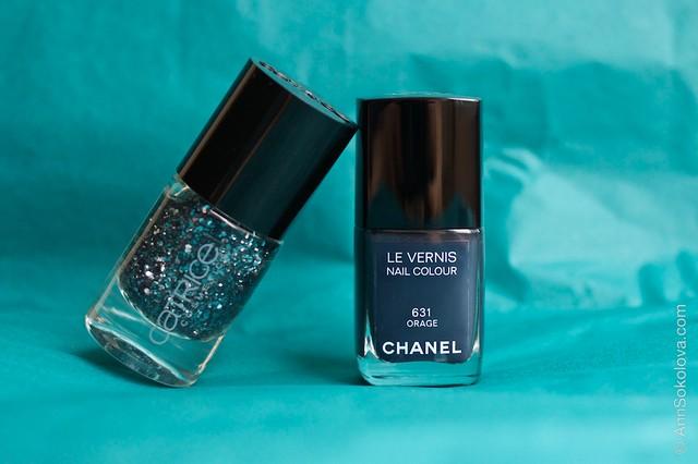 Chanel #631 Orage + Catrice #40 I'm Dynamite