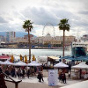 Malaga Port, Museums & Beach with Children.