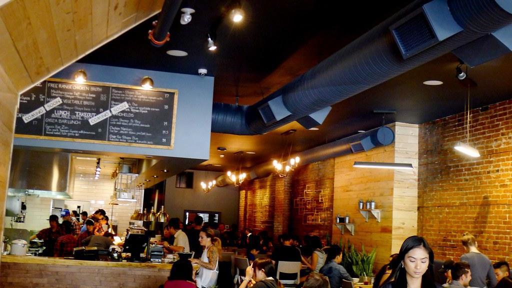 gyoza bar ramen vancouver pender aburi restaurants