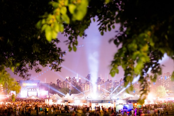 Governor's Ball 2014 music festival in New York City