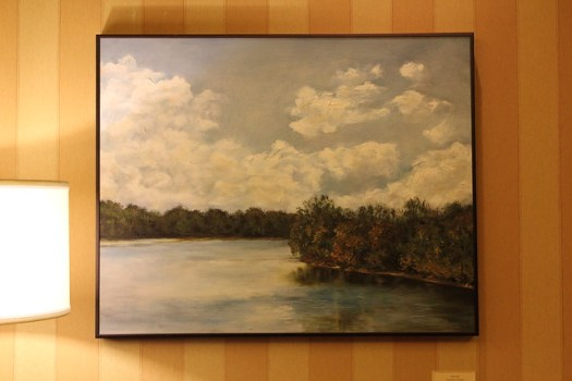 'Coosa River in January' by Amber Hall
