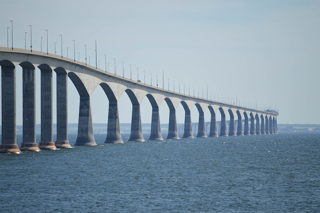 Confederation Bridge from New Brunswick