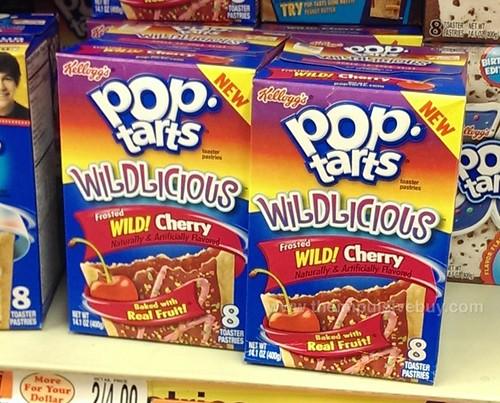 Kellogg's Wildlicious Frosted Wild! Cherry Pop-Tarts