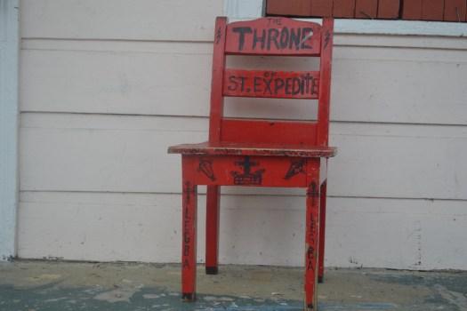 365 Throne of St. Expedite