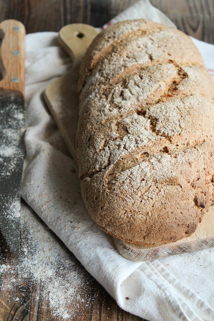 Recette de pain complet maison