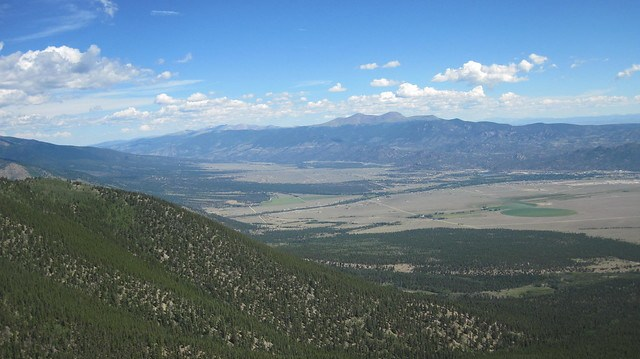 Picture from Mt. Princeton, Colorado